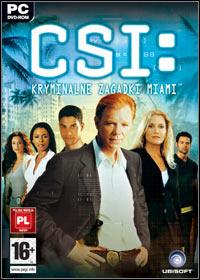 Okładka CSI: Miami (PC)