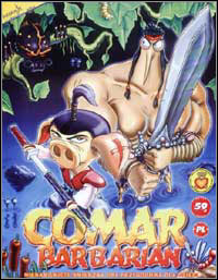 Okładka Comar Barbarian (PC)