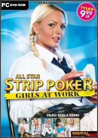 Game All Star Strip Poker: Girls at Work (PC) cover