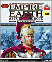 Game Box for Empire Earth: The Art of Conquest (PC)