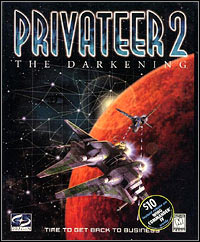 Game Box for Privateer 2: The Darkening (PC)