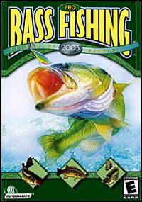 Game Box for Pro Bass Fishing 2003 (PC)