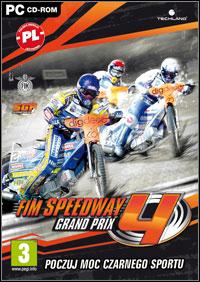Game Box for FIM Speedway Grand Prix 4 (PC)