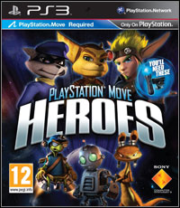 Game Box for PlayStation Move Heroes (PS3)