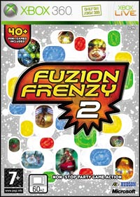 Game Box for Fuzion Frenzy 2 (X360)