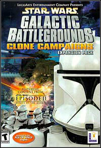 Okładka Star Wars: Galactic Battlegrounds - Clone Campaigns (PC)