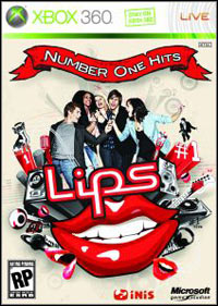 Game Box for Lips: Number One Hits (X360)
