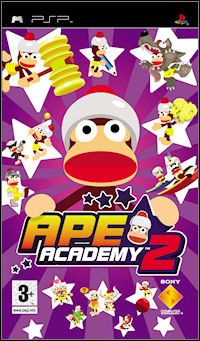 Game Box for Ape Academy 2 (PSP)