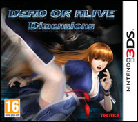 Game Box for Dead or Alive: Dimensions (3DS)
