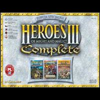 Okładka Heroes of Might and Magic III Complete (PC)
