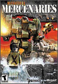 Okładka MechWarrior 4: Mercenaries (PC)