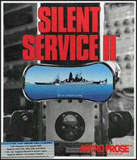 Game Box for Silent Service II (PC)