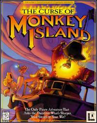 Okładka The Curse of Monkey Island (PC)