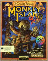 Okładka Monkey Island 2: LeChuck's Revenge (PC)