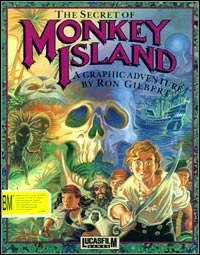 Game Box for The Secret of Monkey Island (PC)