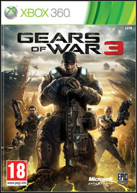 Okładka Gears of War 3 (X360)