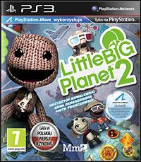 Okładka LittleBigPlanet 2 (PS3)
