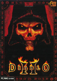 Game Box for Diablo II (PC)