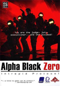 Okładka Alpha Black Zero: Intrepid Protocol (PC)