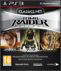 Tomb Raider Trilogy (PS3 cover