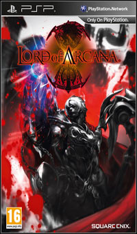 Game Box for Lord of Arcana (PSP)