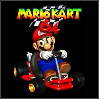 Okładka Mario Kart 64 (Wii)