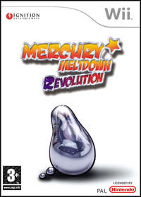 Game Box for Mercury Meltdown Revolution (Wii)
