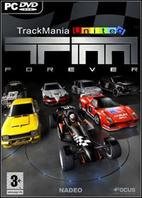 Game Box for Trackmania United Forever (PC)
