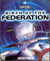 Okładka Star Trek: The Next Generation - Birth of the Federation (PC)