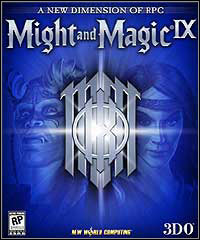 Okładka Might and Magic IX: Writ of Fate (PC)