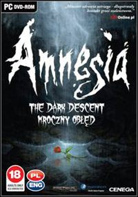 Okładka Amnesia: The Dark Descent (PC)