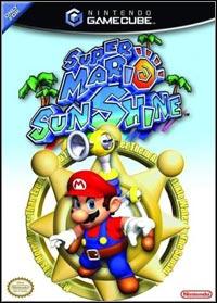 Okładka Super Mario Sunshine (GCN)