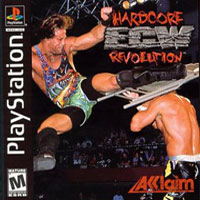Game Box for ECW Hardcore Revolution (PS1)