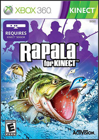 Okładka Rapala for Kinect (X360)