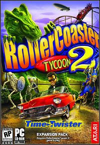 Okładka Rollercoaster Tycoon II: Time Twister (PC)