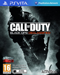 Okładka Call of Duty: Black Ops Declassified (PSV)