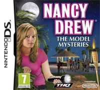 Game Box for Nancy Drew: The Model Mysteries (NDS)