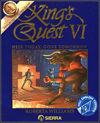 Game Box for King's Quest VI: Heir Today, Gone Tomorrow (PC)