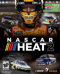 Game NASCAR Heat 2 (PS4) cover