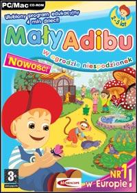Okładka Maly Adibu w ogrodzie niespodzianek (PC)