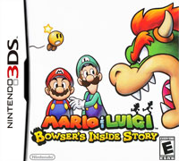 Game Box for Mario & Luigi: Bowser's Inside Story + Bowser Jr.'s Journey (3DS)