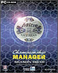 Okładka Championship Manager 2000/2001 (PC)