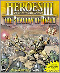 Game Box for Heroes of Might and Magic III: The Shadow of Death (PC)