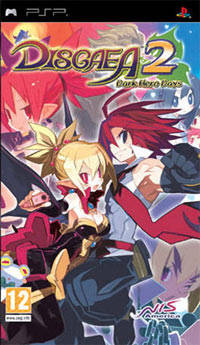 Okładka Disgaea 2: Dark Hero Days (PSP)