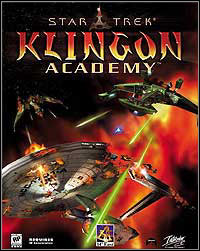 Game Box for Star Trek: Klingon Academy (PC)