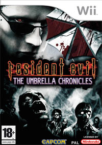 Okładka Resident Evil: The Umbrella Chronicles (Wii)