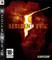 Game Resident Evil 5 (PS3) cover