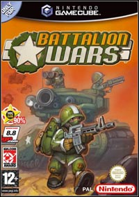 Okładka Battalion Wars (GCN)