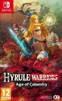 Okładka Hyrule Warriors: Age of Calamity (Switch)