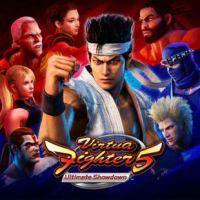 Virtua Fighter 5: Ultimate Showdown (PS4 cover